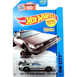 Hot Wheels 1:64 'Hovering' DeLorean Time Machine
