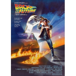 Back to the Future cinema poster