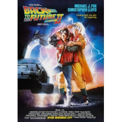 Back to the Future 2 - official cinema poster
