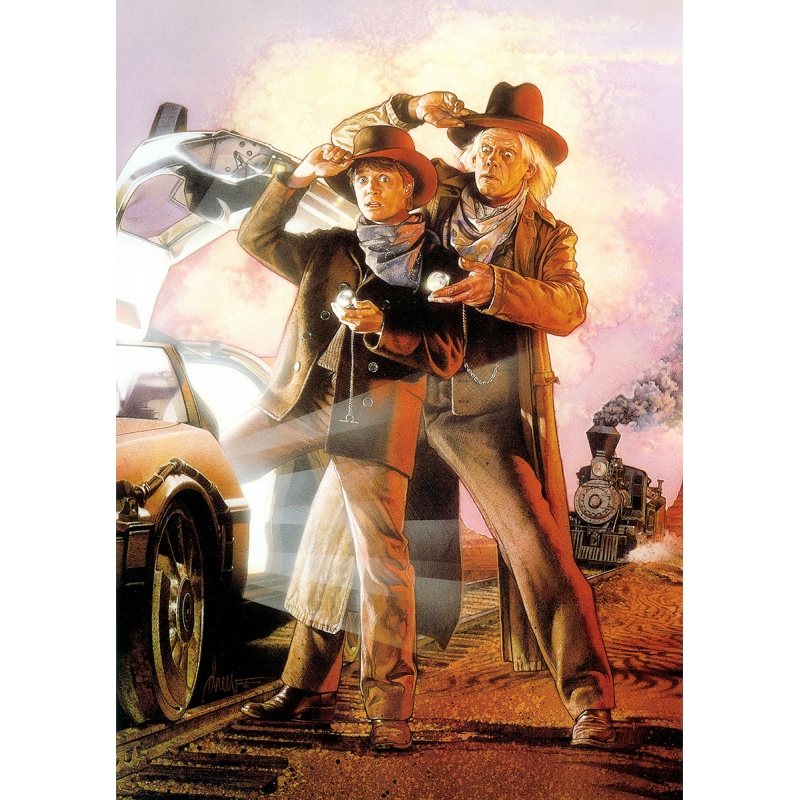 Back to the Future 3 - Movie Poster