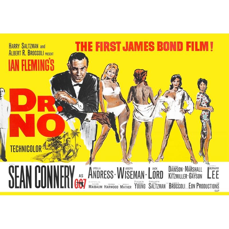 James Bond Movie Poster - Dr. No