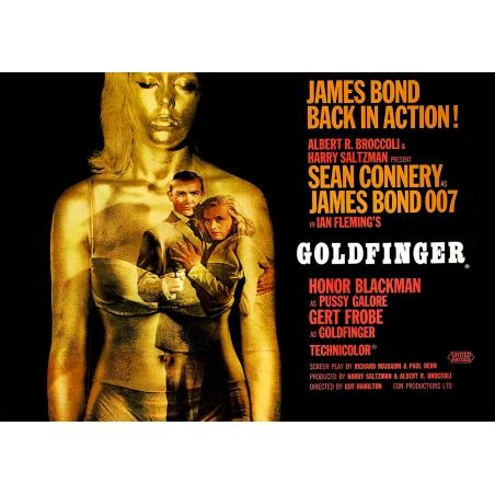 James Bond Movie Poster - Goldfinger