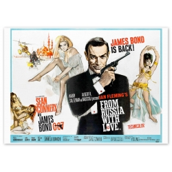 James Bond Liebesgrüße aus Moskau - Filmposter