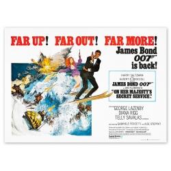 James Bond: On Her Majesty's Secret Service - Movie Poster