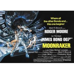 James Bond: Moonraker - Movie Poster