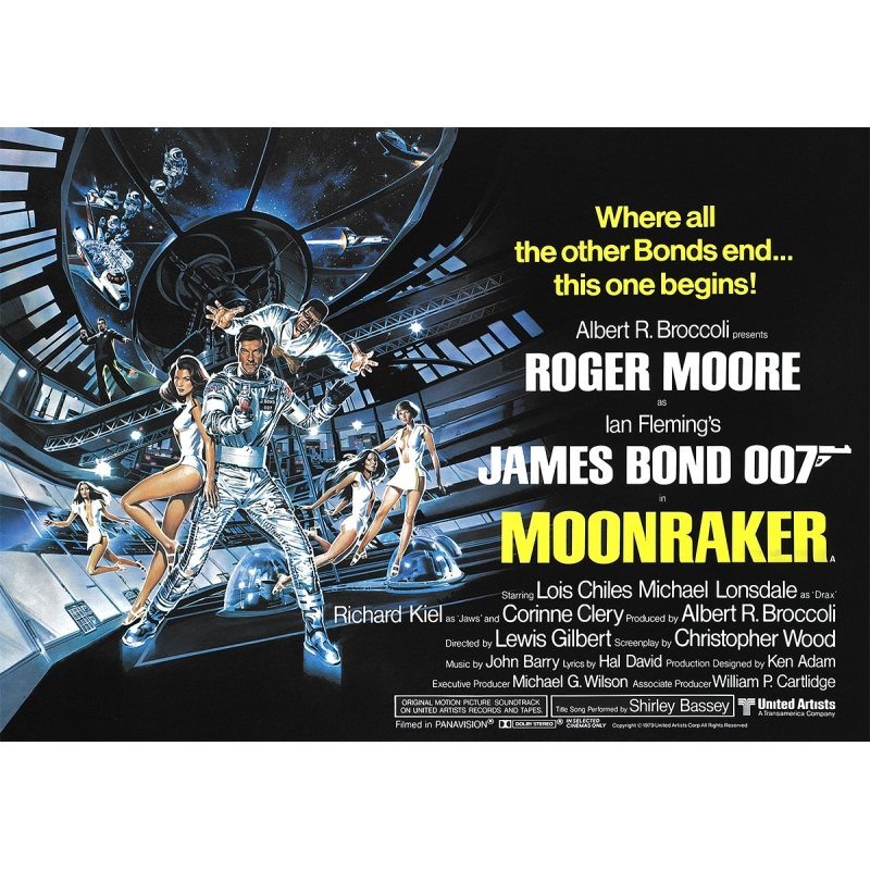 James Bond: Moonraker - Movie Poster