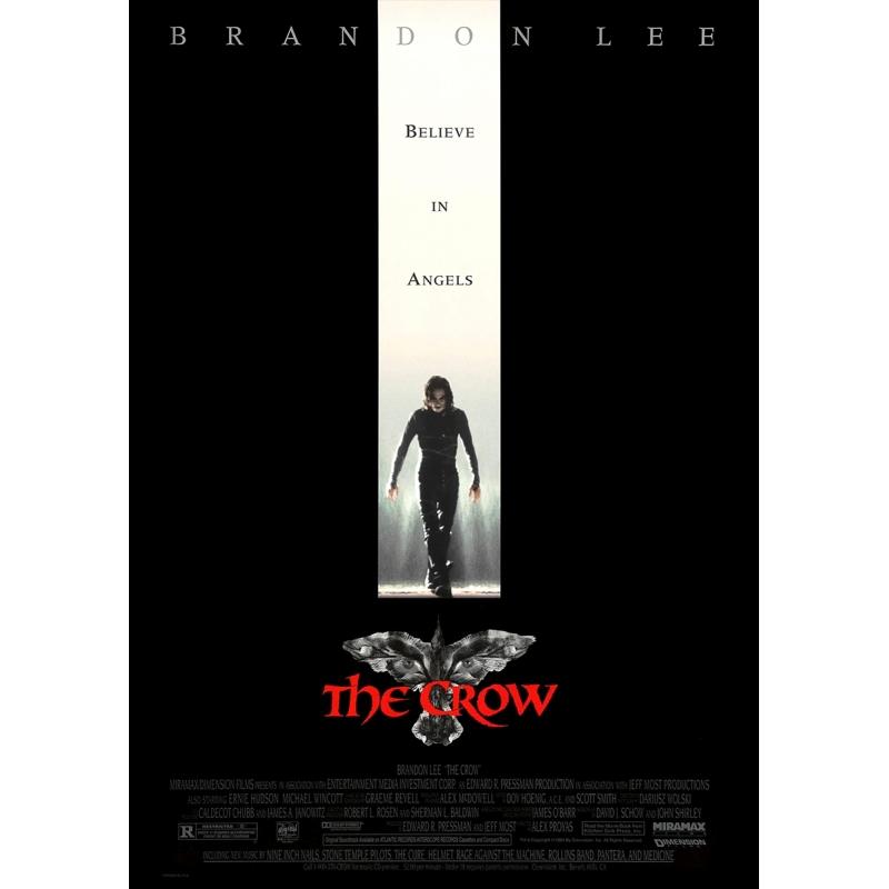 The Crow - Die Krähe (Brandon Lee) - Filmposter