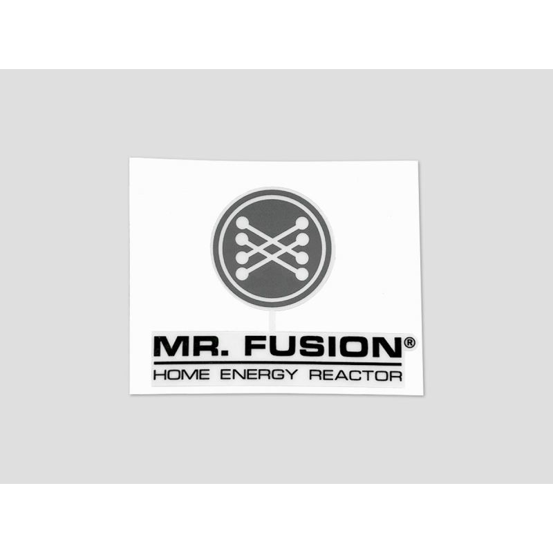 """Mr. Fusion"" Sticker"