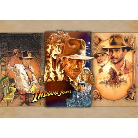 Indiana Jones I-III Movie Poster