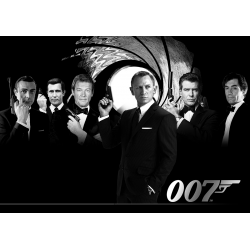James Bond 007 movie poster