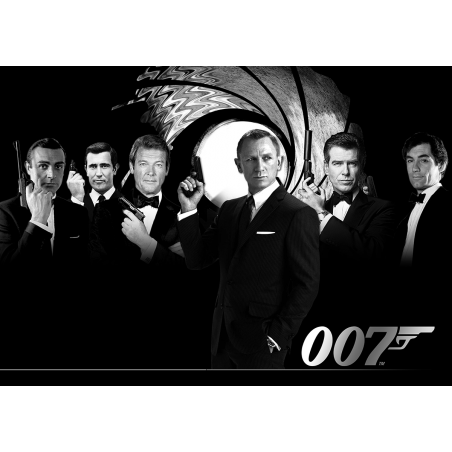 James Bond 007 movie poster