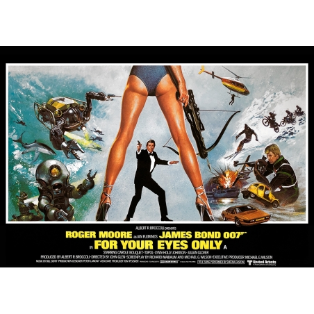 James Bond: In tödlicher Mission - Filmposter