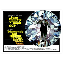 James Bond: Diamonds are forever - Movie Poster