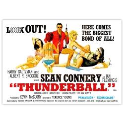 James Bond: Feuerball - Filmposter