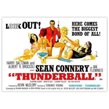 James Bond: Thunderball - Movie Poster