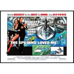 James Bond: Der Spion, der mich liebte - Filmposter