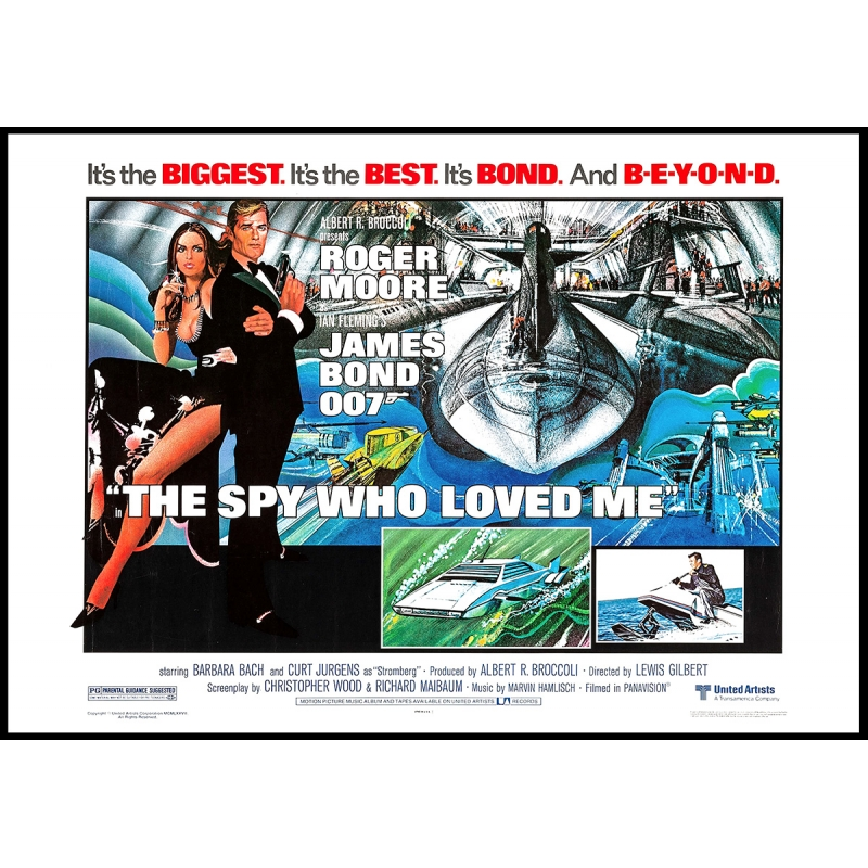 James Bond: The spy who loved me - Movie Poster