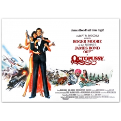James Bond: Octopussy - Filmposter