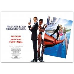 James Bond: A View to a Kill - Movie Poster