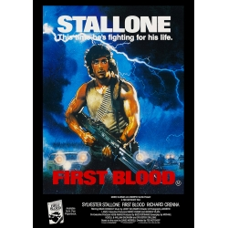 Rambo: First Blood - Cinema Poster