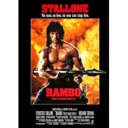 Rambo: First Blood Part 2 - Cinema Poster