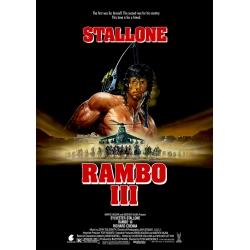 Rambo III - Cinema Poster