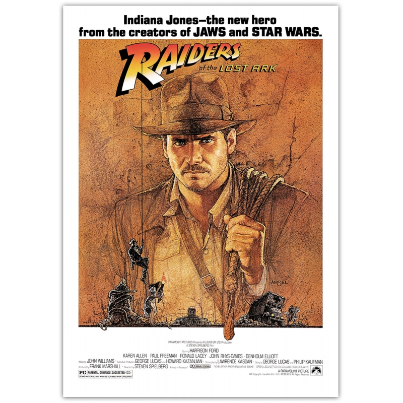 Raiders of the Lost Ark - Movie Poster