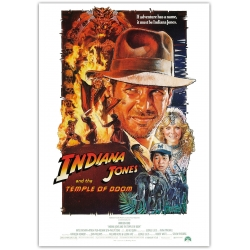 Indiana Jones and the Temple of Doom - Cinema Poster