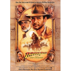Indiana Jones and the Last Crusade - Cinema Poster