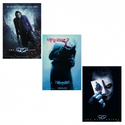 Batman - The Dark Knight - Poster set, 3 pieces