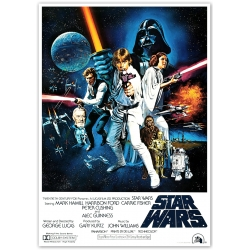 Star Wars Episode IV Filmposter