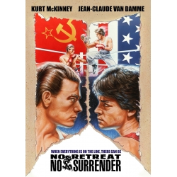 No Retreat, No Surrender (1986) Movie Poster