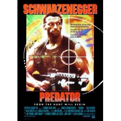 Schwarzenegger: Predator (1987) Filmposter - Version 1