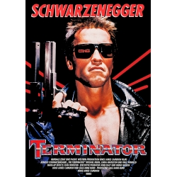 Schwarzenegger: Terminator (1984) Movie Poster