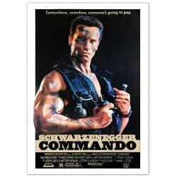 Schwarzenegger: Phantom Kommando (1985) Filmposter