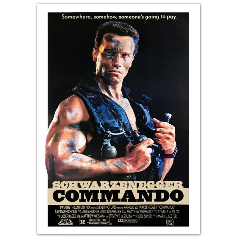 Schwarzenegger: Commando (1985) Movie Poster
