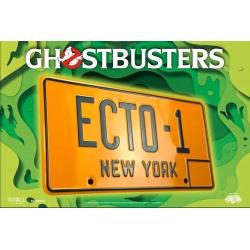 Ghostbusters replica ECTO-1 license plate