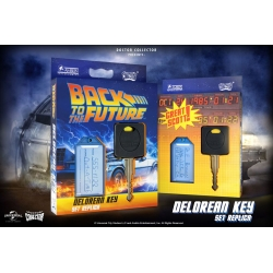 DeLorean Key Replica