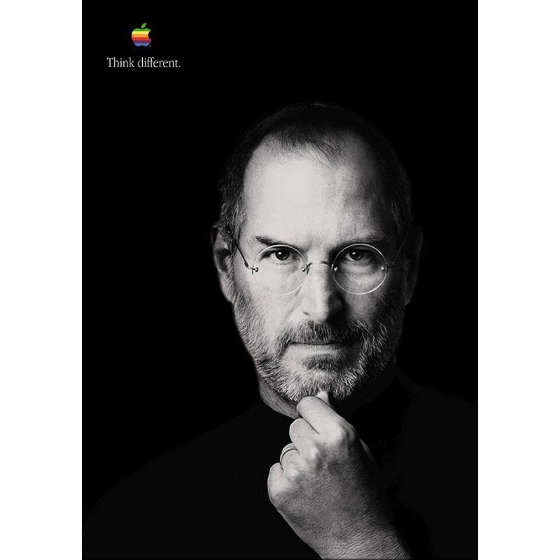Steve Jobs Apple Poster