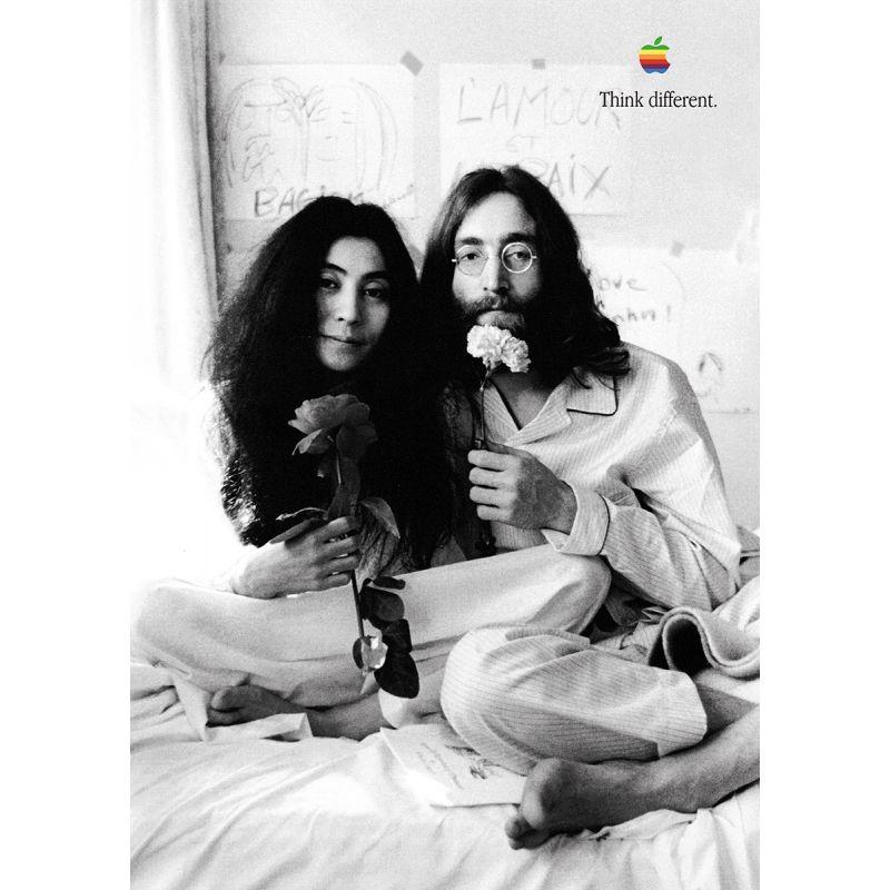 John Lennon Apple Poster