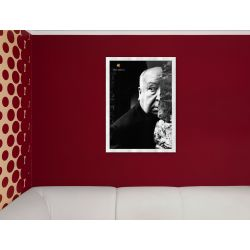 APPLE Think Different Poster - Alfred Hitchcock
