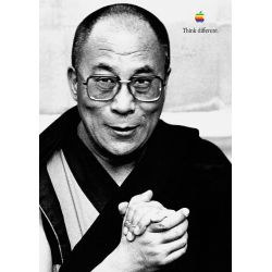 Apple Poster Dalai Lama