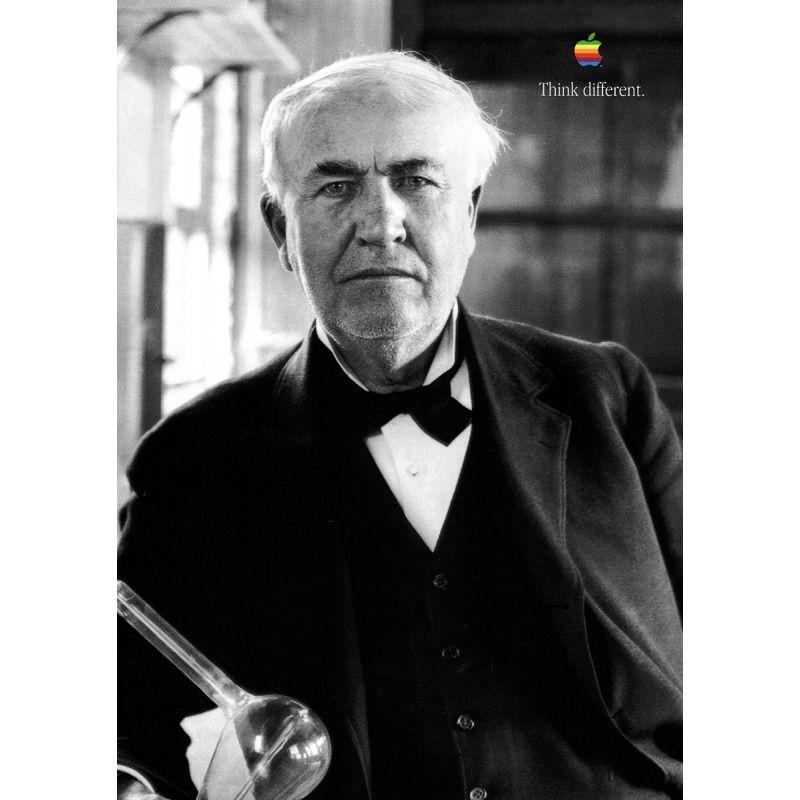 Apple Poster Thomas Edison