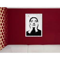 APPLE Think Different Poster - Maria Callas