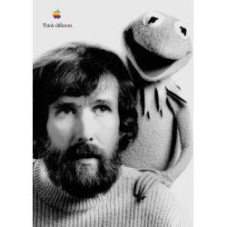 Apple Poster Jim Henson and Kermit
