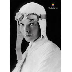 Apple Poster Amelia Earhart