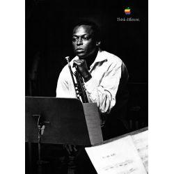Apple Poster Miles Davis