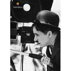 Apple Poster Charlie Chaplin