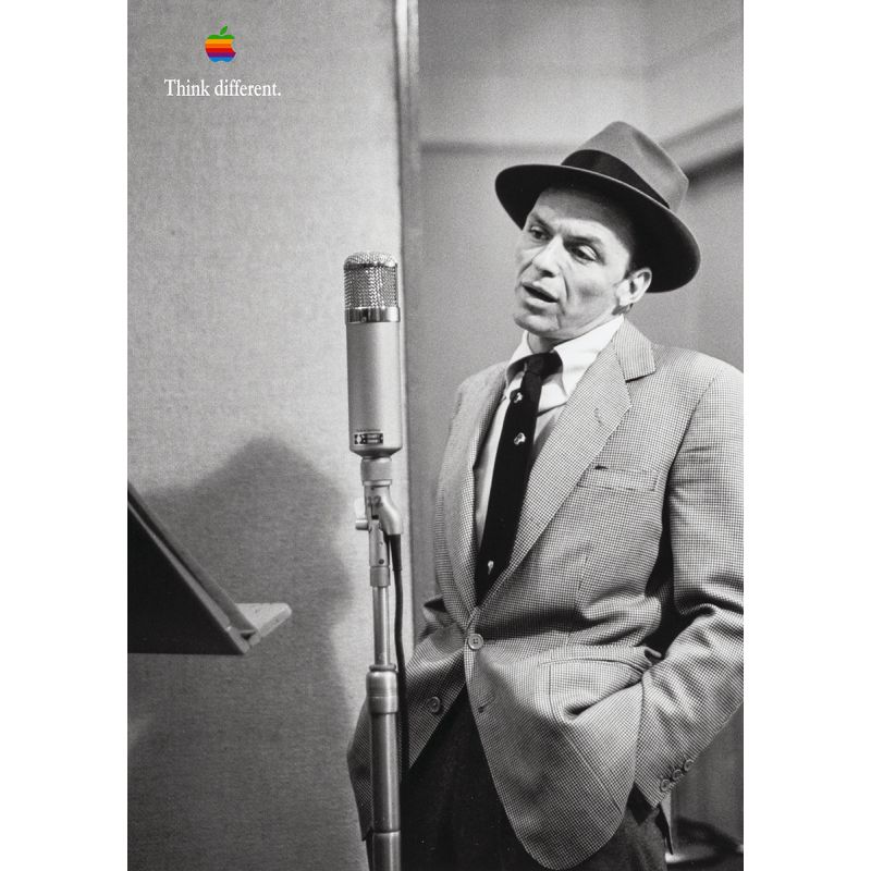 Apple Poster Frank Sinatra