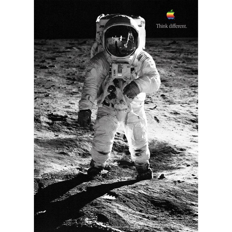 Apple Poster Buzz Aldrin